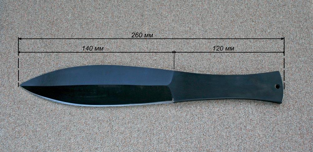 Нож метания своими руками